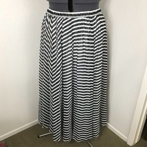Lane Bryant maxi skirt